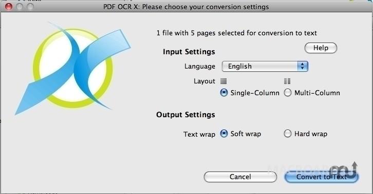 PDF OCR scannen