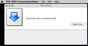 PDF OCR X