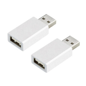 2er-Spar-Set - ZOGI USB-Datenblocker RXD-108A, Daten-Sync-Blocker fü r Smartphones und Tablets