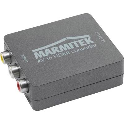 AV Konverter [Composite Cinch, SCART - HDMI] 1080 x 720 Pixel Marmitek Connect AH31