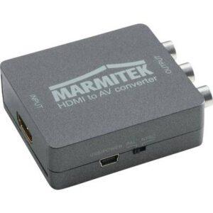 AV Konverter [HDMI - Composite Cinch, SCART] 1080 x 720 Pixel Marmitek Connect HA13