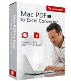 Aiseesoft Mac PDF to Excel Converter