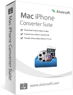 Aiseesoft Mac iPhone Converter Suite