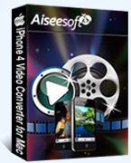 Aiseesoft iPhone 4 Video Converter for Mac