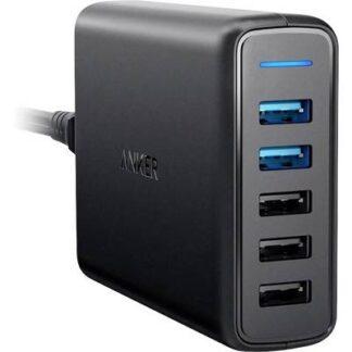 Anker PowerPort 5 A2054L11 USB-Ladestation Steckdose 5 x USB
