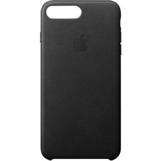 Apple Leather Case Backcover Apple iPhone 8 Plus, iPhone 7 Plus Schwarz