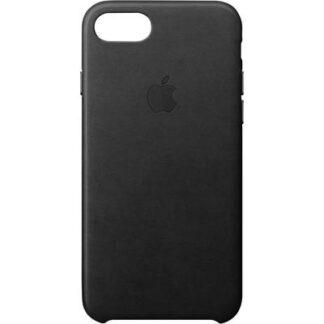 Apple Leather Case Backcover Apple iPhone SE (2. Generation), iPhone 8, iPhone 7 Schwarz