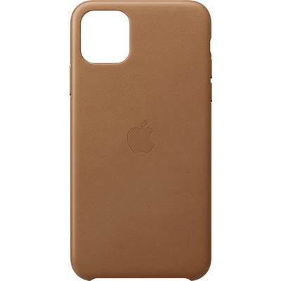 Apple Leder Case Apple iPhone 11 Pro Max Sattelbraun