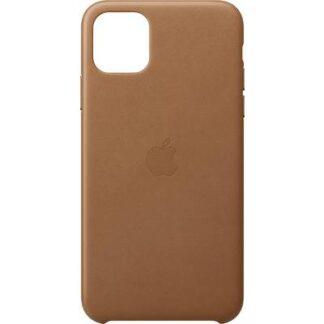 Apple Leder Case Apple iPhone 11 Pro Max Sattelbraun