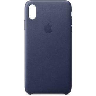 Apple Leder Case Backcover Apple iPhone XS Max Mitternachtsblau