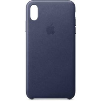 Apple Leder Case Backcover Apple iPhone XS Max Mitternachtsblau