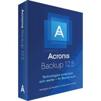 Backup 12.5 Virtual Host DE, Datensicherung-Software