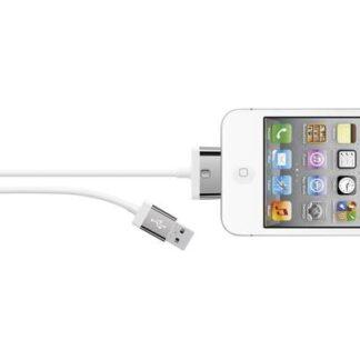 Belkin iPad/iPhone/iPod Datenkabel/Ladekabel [1x USB 2.0 Stecker A - 1x Apple Dock-Stecker 30pol.] 2.00 m Weiß