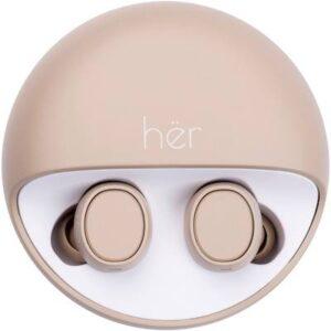 HER HX-12 Bluetooth® In Ear Stereo-Headset In Ear Beige