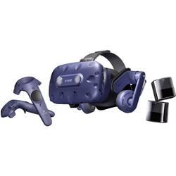 HTC Vive Pro Blau Virtual Reality Brille inkl. Bewegungssensoren, inkl. Controller, mit integriertem Soundsystem