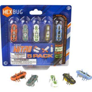 HexBug Nano Nitro 5-Pack Spielzeug Roboter