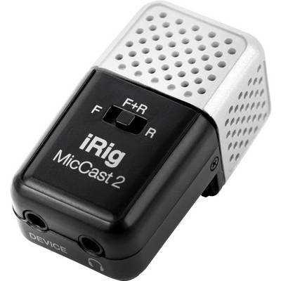 IK Multimedia iRig Mic Cast 2 Ansteck Handymikrofon Übertragungsart:Kabelgebunden inkl. Kabel