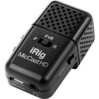 IK Multimedia iRig Mic Cast HD Ansteck Handymikrofon Übertragungsart:Kabelgebunden inkl. Kabel