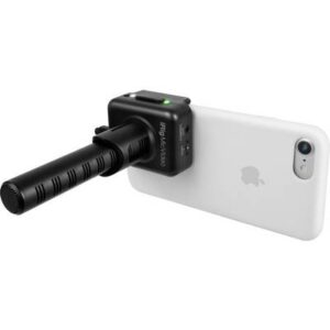 IK Multimedia iRig Mic Video Ansteck Kamera-Mikrofon Übertragungsart:Kabelgebunden inkl. Klammer, inkl. Kabel