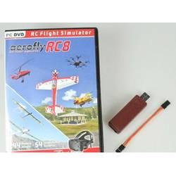 Ikarus aeroflyRC8 Modellbau Flugsimulator mit Interface Graupner/HoTT