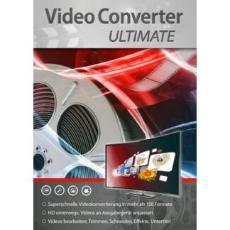 Markt & Technik VideoConverter Ultimate Vollversion, 1 Lizenz Windows Videobearbeitung