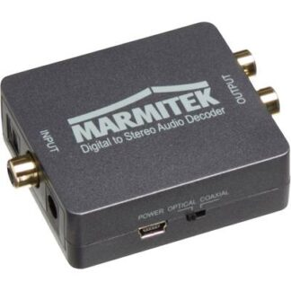 Marmitek Audio Konverter Connect DA51 [Toslink, Cinch-Digital - Stereo Cinch (R/L)]