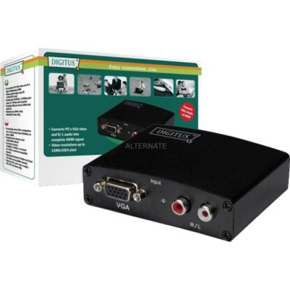 Multimedia VGA/Audio zu HDMI Converter, Konverter