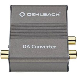 Oehlbach Audio Konverter DA Converter [Toslink, Cinch-Digital - Cinch]