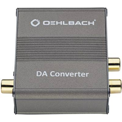 Oehlbach Audio Konverter DA Converter [Toslink, Cinch-Digital - Cinch]