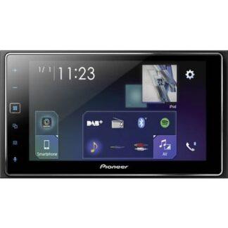 Pioneer SPH-DA130DAB Doppel-DIN Moniceiver Anschluss für Rückfahrkamera, Anschluss für Lenkradfernbedienung, AppRadio,