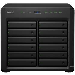 Synology DiskStation DS2419+ NAS-Server Gehäuse 12 Bay 2x M.2 Steckplatz, Hardwareverschlüsselung DS2419+