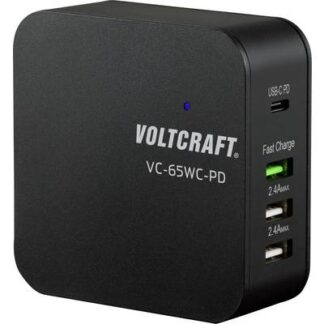 VOLTCRAFT VC-65WC-PD VC-65WC-PD USB-Ladestation 4 x
