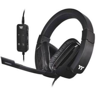 Thermaltake SHOCK XT 7.1 Gaming Headset 3.5 mm Klinke, USB Stereo Over Ear Schwarz