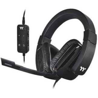 Thermaltake SHOCK XT 7.1 Gaming Headset 3.5 mm Klinke, USB Stereo Over Ear Schwarz