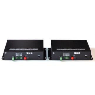 1 Pair 16CH +RS485 Data 16V1D Fiber Optic Video Optical Transmitter & Receiver 16 Channel Video Optical Converter