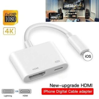 3 In 1 8Pin For Lightning To HDMI Converter For Iphone To HDMI AV Adapter Converter For IPhone X 11 For IPad Audio Video Adapter