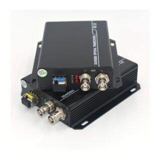3G HD SDI Video/Audio over Fiber optic Media Converters Transmitter Receiver single fiber up 10Km SFP LC for HD video broadcast