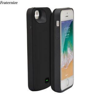 4000mAh Silicone shockproof Battery Case For iPhone 5 5S SE 2018 SE Charger Case Battery Charging Back Cover Power Bank Cases