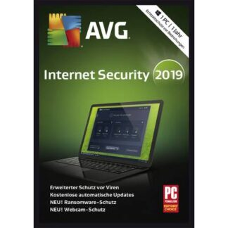 AVG Internet Security 2019 Vollversion, 1 Lizenz Android, Mac, Windows Sicherheits-Software