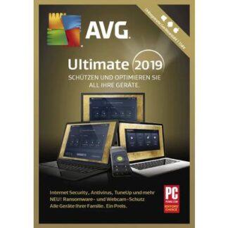 AVG Ultimate 2019 Vollversion, unbegrenzte Geräteanzahl Windows, Android, Mac Sicherheits-Software