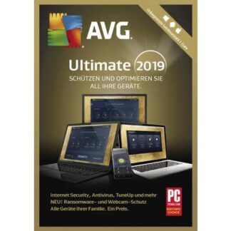 AVG Ultimate 2019 Vollversion, unbegrenzte Geräteanzahl Windows, Android, Mac Sicherheits-Software