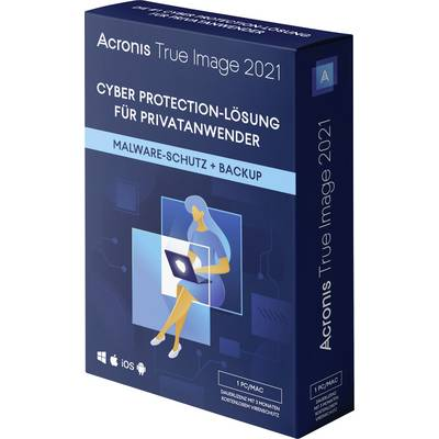 Acronis True Image 2021 Mac, Windows, Android, iOS Backup-Software
