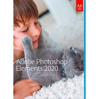 Adobe Photoshop Elements 2020 Vollversion, 1 Lizenz Windows, Mac Bildbearbeitung