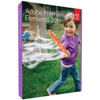 Adobe Premiere Elements 2019 - Box-Pack Upgrade, 1 Lizenz Windows, Mac Bildbearbeitung