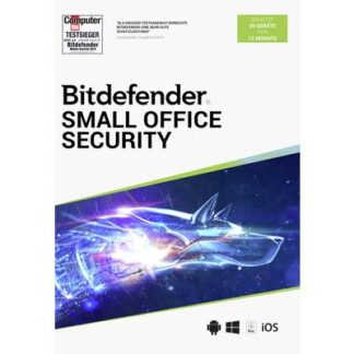 BitDefender Small Office Security 20 Geräte/12 Monate Windows, Mac, iOS, Android Antivirus
