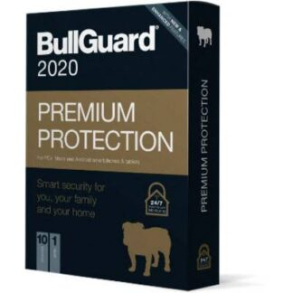 Bullguard Premium Protection 2020 10 U Jahreslizenz, 10 Lizenzen Windows, Mac, Android Sicherheits-Software
