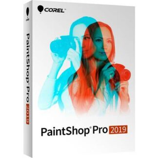 Corel PaintShop Pro 2019 Vollversion, 1 Lizenz Windows Bildbearbeitung