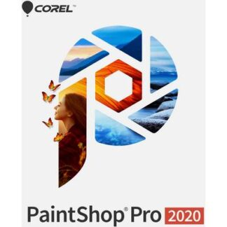 Corel PaintShop Pro 2020 Mini Box Vollversion, 1 Lizenz Windows Bildbearbeitung