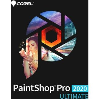 Corel PaintShop Pro 2020 Ultimate Mini Box Vollversion, 1 Lizenz Windows Bildbearbeitung