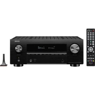 Denon AVC-X3700H 9.2 AV-Receiver 9x180 W Schwarz 4K UltraHD, AirPlay, Bluetooth®, Internetradio, USB, WLAN, Dolby